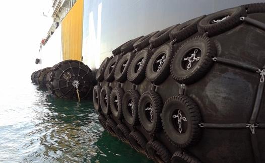 defensas pneu